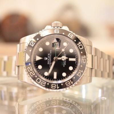 ロレックスの時計 GMTマスター