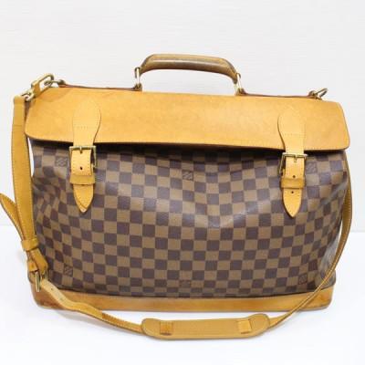 ヴィトンのダミエ クリッパー バッグ