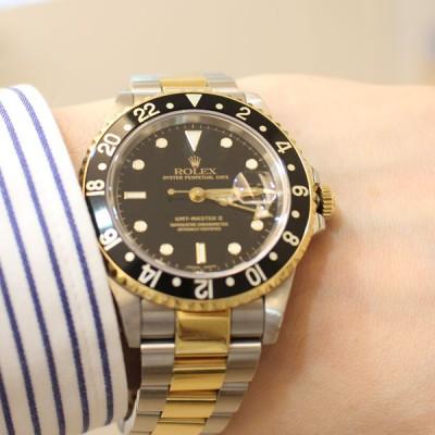 ロレックスのGMTマスターⅡの時計