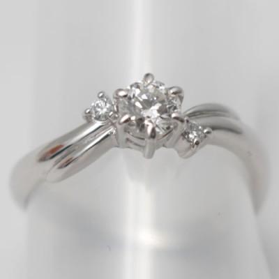 田崎のダイヤモンドリング 指輪