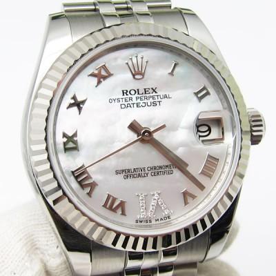 ロレックス の時計 オイスターパーペチュアル デイトジャスト 178274NR