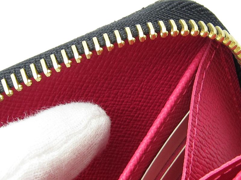 [写真]ルイヴィトンのマルチカラー ジッピーウォレット 長財布 M60243 製造番号の場所
