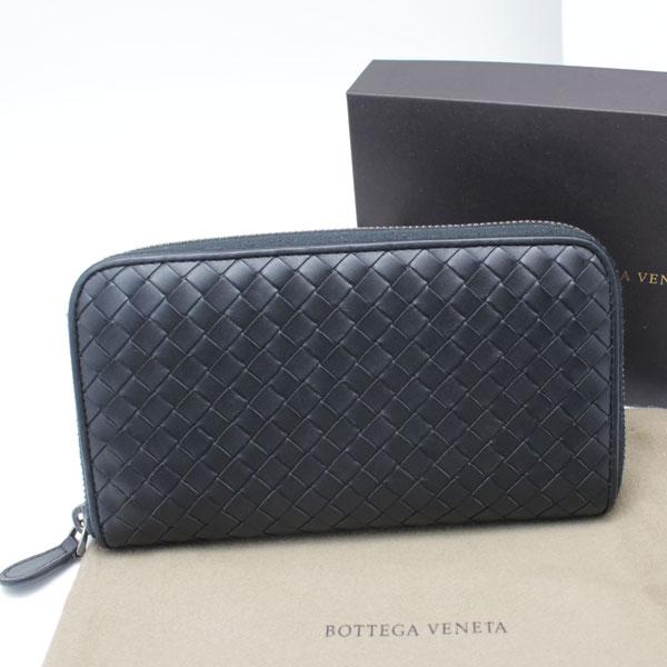 hot sale online c9fa4 e0414 美品 ボッテガヴェネタ BOTTEGA VENETA B03605335Q ラウンド ...