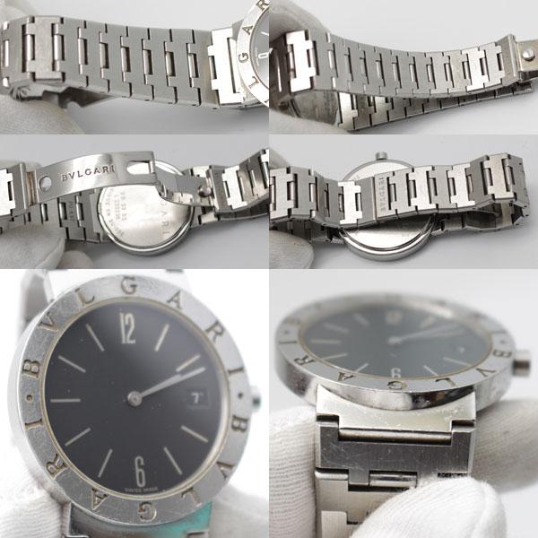 promo code 04faf 45ea2 BVLGARI ブルガリ ブルガリブルガリ BB33SS 腕時計 メンズ ...