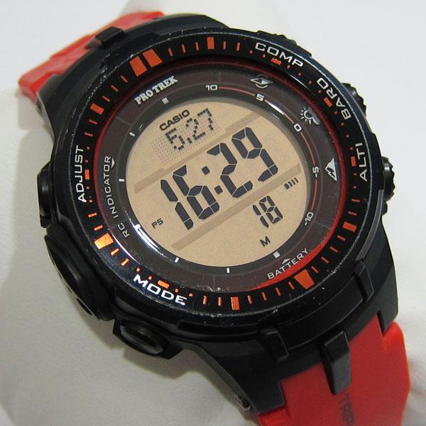 b20321fc0a CASIO PROTREK PRW-3000 カシオ プロトレック ソーラー電波時計 腕時計 ...