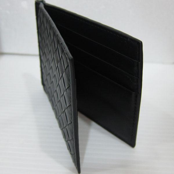 new product cdb51 b6b04 美品 ボッテガヴェネタ イントレチャート マネークリップ付き二 ...