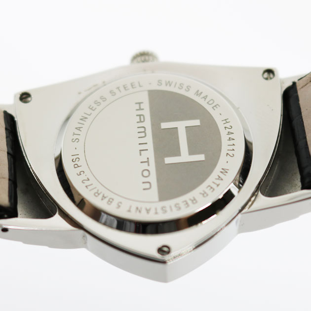 hot sale online 4ef22 05558 ハミルトン メンズ 腕時計 ベンチュラ H244112 黒文字盤 ...
